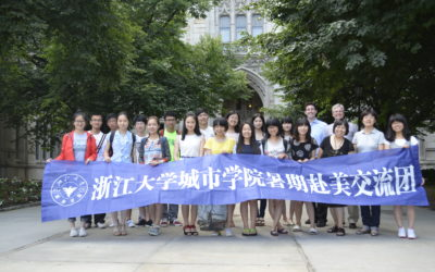 Speaking to Visiting Chinese Students on the Creation of America